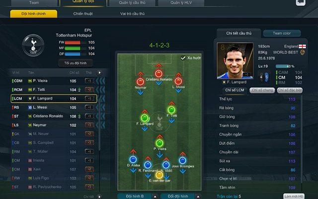 chiến thuật giả lập xếp hạng fifa online 3 mới nhất