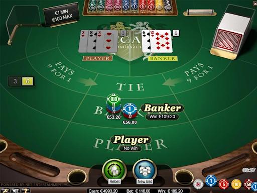 Chơi cược Banker/Player có đôi đỏ/đen