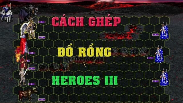 cách ghép đồ trong heroes 3